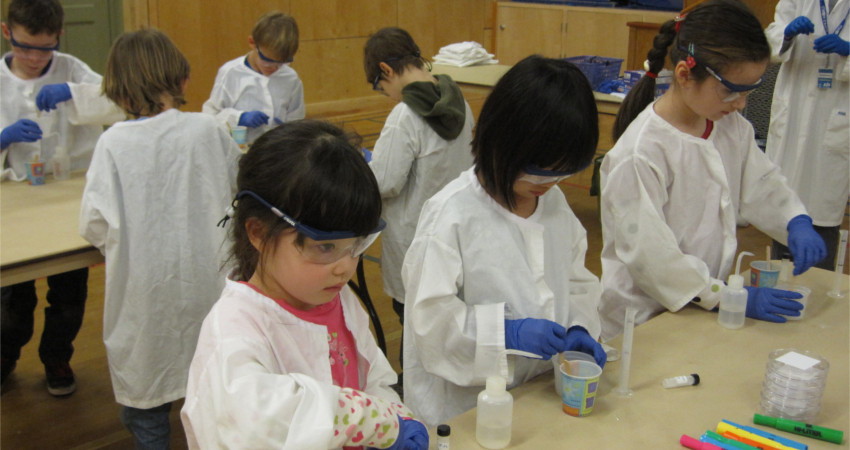 Kids Doing Science